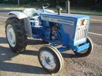 Ford 1700 diesel tractor, good condition. asking