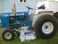 This tractor has a diesel engine it weighs2300 lbs has