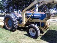i have a 1970 2000 ford tractor, gas with a loader and