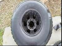 I have a set of blacked out ford rims don't like black