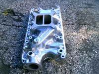 PERFORMER Edelbrock INTAKE which has the Endura shine