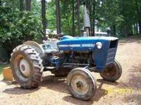 Ford 3000 tractor. Runs good. Will need brakes. Box