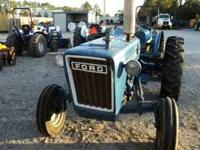 Ford 3000 Tractor - Gas / Power Steering / Good Tires /