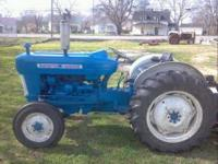 I HAVE A REALLY NICE FORD 3000 TRACTOR HAS A 47HP