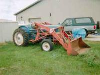 Ford 3000 Utility tractor with 3 point hitch, PTO, and