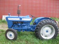 Ford 3000 Tractor w/Implements Runs great, good