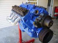 Ford 302 5.0 engine with E7 heads, with mild Crane cam;