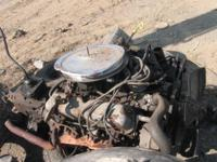 Ford 302 Carbureted Engine With 4 speed transmission