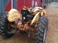 Nice farm tractor, gas engine, 8 speeds forward , 2
