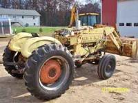 Good farm tractor model 3400. Gas engine, pto. 3 point