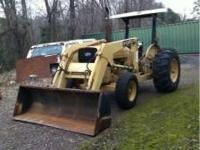 industrial loader tractor 52hp diesel,power steering,6