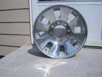 "I have 3 2008 Ford F250, F350 18"" polished alloy wheels"
