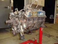 Complete 351W 2bbl engine from a 1982 F150. Has 130K