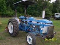Tractor has a new battery, new rear tires and a steel