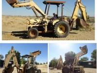Ford 4000 Industrial Backhoe. Ford 4000 industrial