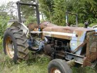 I have a 4000 Ford diesel farm tractor--pwr steer--3