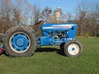 Ford 4000 gas tractor with 6ft, 3pt hitch rotary