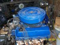 Ford 460 engine complete & runs. The engine has a 2