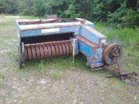 Ford 532 square baler for sale $600.00 or best offer.