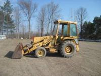I have a Ford 555 diesel industrial loader tractor for