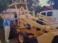 Ford 555B Backhoe and Loader. $12,500.00 OBO. Call  for