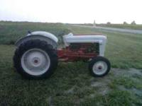 I have a great running 1955 35 hp Ford 600 gas tractor