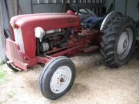 Ford 641, 40 hp, very good condition, owned over 20