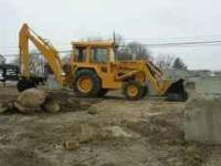 1987 Ford 755A Backhoe good running big machine really