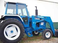 Ford 7710 tractor with loader 97hp 2wd 2000hours good
