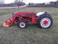 Tractor runs well and in good shape. Uses some oil, and