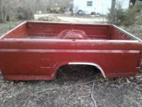 I have a ford pickup bed that is rust free.Its a long