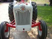 45 hp, 5 speed with 6ft mower, tractor has been