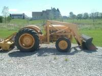 1955 ford 800 w/loader good condition for it's age