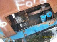 parting out burnt ford 8000. any qestions call or