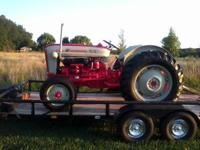 1964? ford 801 tractor sherman trans grate all a round
