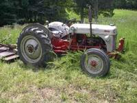 NICE FORD TRACTOR ENGINE HAS BEEN REBUILT GOOD TIRES