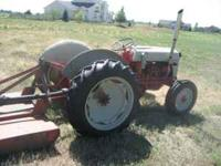 This tractor runs great, I have had it for 4 years and