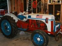 For Sale: 194 8N tractor Less than 20 hours on engine