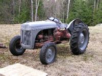 Great old ford 8N tractor.This tractor is great and has