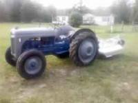 FORD 8N TRACTOR READY TO WORK, GOOD HYD. GOOD BRAKES,