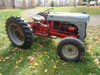 For Sale: Good running Ford 8n with loader,chains, and