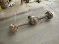 "9"" ford Rear End with disc brakes ------perfect for a"
