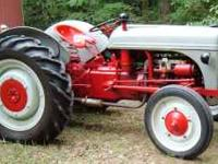 ford 9N with blade. Very nice tractor,many newer parts