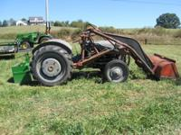 I have a decent running and looking Ford 9N tractor