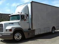 1989 Ford Aeromax 9000 2-Car Transporter VIN:
