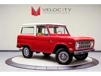 For sale is an 1969 Ford Bronco. This rust free Bronco