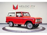 For sale is an Original 1974 Ford Bronco Explorer. This