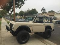 this is a one of a kind fully restored 1971 Ford Bronco