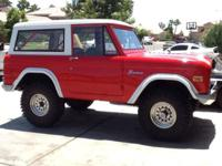Magnusson Classic Motors with 1971 Ford Bronco 1971