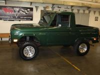 1968 Ford Bronco Sport Half Cab , by far the cleanest